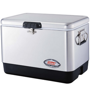 Coleman 54QT Steel Belt Cooler