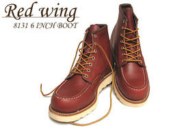 RED WING[レッドウイング] 8131 6-INCH BOOT