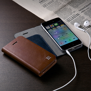 Leather Flip Cover for iPhone 5s・5