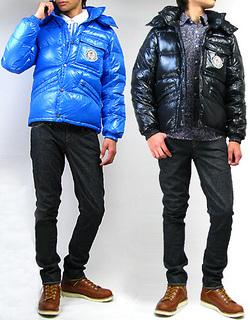 MONCLER[モンクレール]K2:ケーツー 735 BLUE / 999 BLACK