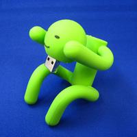 """軟体星人""""緑男USBメモリー"""""""