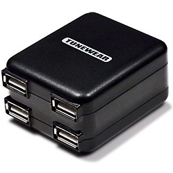 TUNEWEAR TUNEMAX 4USB Charger TUN-IP-200028