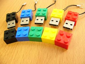 ソリッドアライアンス ブロック型USBメモリー