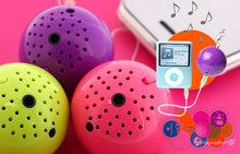 ◇サウンドボール◇まんまるフォルムの高音質モバイルスピーカー