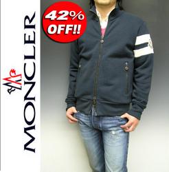 MONCLER[モンクレール]ジップオーバー 777ネイビー
