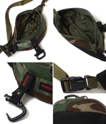 BRIEFING[ブリーフィング]FLIGHT LIGHT MINI POD:BUCKET WOODLAND CAMO