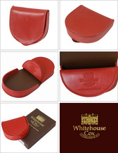 Whitehouse Cox[ホワイトハウスコックス]s5761 馬蹄形コインケース RED