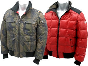 MONCLER[モンクレール]RACINE:ラチネ 826CAMOUFLAGE/RED