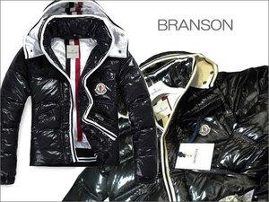 MONCLER[モンクレール]BRANSON:ブランソン 999シャイニーブラック