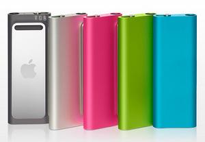 New colors!iPod shuffle