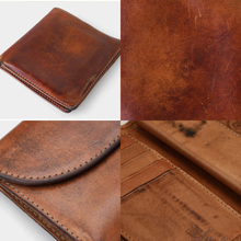 VINTAGE BRIDLE LEATHER