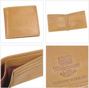 Whitehouse Cox[ホワイトハウスコックス]二つ折り財布 s5571
