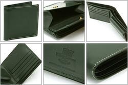 Whitehouse Cox[ホワイトハウスコックス]コインケース付二つ折り財布 S7532