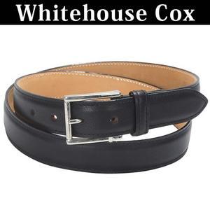 Whitehouse Cox[ホワイトハウスコックス]レザーベルト b9772C/BLK