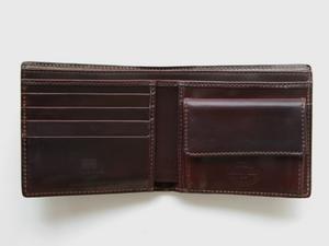 Whitehouse Cox[ホワイトハウスコックス]s9817 シェルコードバン コインケース付二つ折り財布