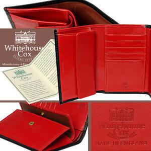 Whitehouse Cox[ホワイトハウスコックス]三つ折り財布 S7660/SR1112