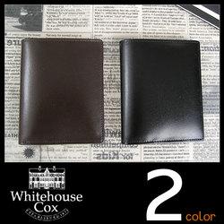 Whitehouse Cox[ホワイトハウスコックス]ツートーンブライドルレザーカードケース s2382