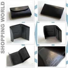 Whitehouse Cox[ホワイトハウスコックス]三つ折り財布 s7660 BLACK