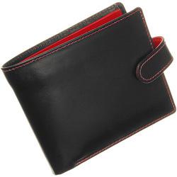 Whitehouse Cox[ホワイトハウスコックス]s9973 二つ折り財布 ブラック・レッド R